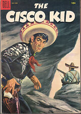 CISCO KID #27 1955 DELL WESTERN/TV SERIES ''PAINTED COVER'' FN+