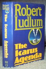 1988, 1ST PRINTING, 1ST TAIWAN PIRATE EDITION, ROBERT LUDLUM, THE ICARUS AGENDA