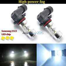 2x H10 9145 LED Fog Lights 60W High Power Samsung 2323  Driving Bulb 6000K White