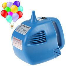 Blue Single Nozzle Balloon Inflator 400W Electric Balloon Pump