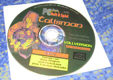 TALISMAN PC CD Version ADVENTURE Deutsch 1995 MS-DOS Software 2000