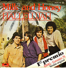 "7"" EUROVISION 1979 MILK AND HONEY hallelujah ISRAEL SPANISH"