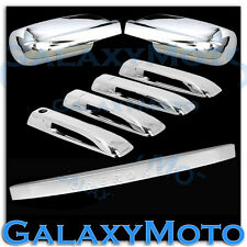 05-10 JEEP GRAND CHEROKEE Triple Chrome Mirror+4 Door Handle+Tailgate Cover
