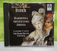 Heinrich Ignaz Franz Biber Harmonia Artificioso - Ariosa The Rare Fruits Council