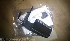 Peugeot 405 OS RH (UK drivers' side) wing door mirror quality NOS