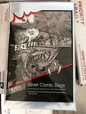 100 Storage Bags and 100 Boards Combo Lot(Silver Age Comic Book) Ultra Pro / BCW