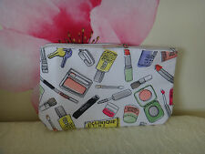 Clinque Makeup Cosmetic Bags Approx Size 20.5 X 14.5