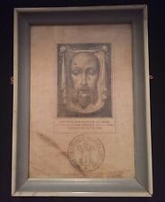 SALE 3 Days Only SAVE 25% ON THIS RARE 1800's VEIL OF VERONICA Sudarium