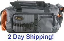 NEW Waterproof Soft Sided Fishing Tackle Box Storage Bag with External Pockets