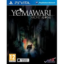 Yomawari Night Alone + htoL#NiQ The Firefly Diary PS Vita Game Brand New