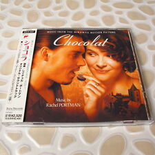 Chocolat: Music From The Miramax Motion Picture Soundtrack JAPAN CD W/OBI #130-3