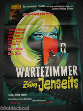 Wartezimmer zum Jenseits KINOPLAKAT A1 KLAUS KINSKI Waiting Room to the Beyond