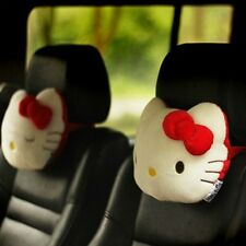 Hello Kitty Car Seat Head Rest Neck Cushion Pillows 2pcs