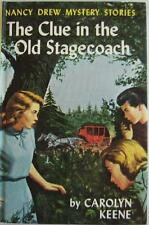 VINTAGE NANCY DREW #37 CLUE IN THE OLD STAGECOACH