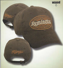 REMINGTON WAXED Water Resistant Hunting Hat  Rifles Firearms Ammunition