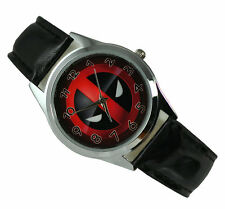 Marvel Super Hero Deadpool Superhero Boy Man Fashion Watch Xmas Wrist YSD