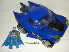 DC Super Friends My First Batmobile Vehicle W/ Batman Figure Fisher Price Car