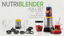 FOOD BLENDER VEGETABLE FRUIT 700W MAGIC MIXER FOOD PROCESSOR BULLET SHAPE NUTRI