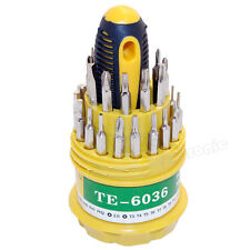 New 31 In 1 Screwdriver Set PDA Phone Repair Kit Tools for Hard Drive Watch PSP