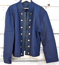 civil war union reenactor officers double breasted shell jacket 42