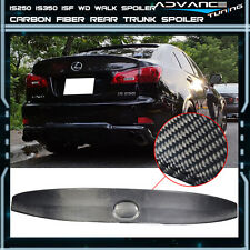 06-13 Lexus IS250 IS350 ISF Carbon Fiber CF IK Style Rear Trunk Spoiler Wing