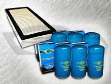7.3L TURBO DIESEL STANDARD AIR FILTER AND 6 OIL FILTERS KIT FOR FORD