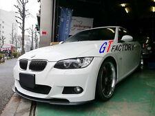 BMW E92 E93 M TECH M SPORT FRONT BUMPER USE CARBON FRONT LIP SPOILER KER STYLE