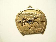 Médaille Ancienne Prix d'Amérique 27/1/1963 Cheval OZO hippisme course  horse