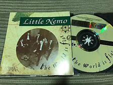 LITTLE NEMO - THE WORLD IS FLAT CD SINGLE KO 92 - INDIE POP