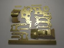 kyosho gold  CONVERSION ALLOY part set turbo optima pro salute javelin optima