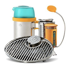 BioLite Bundle CampStove, Portable Grill KettlePot Attachment NEW FREE SHIP