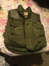 Vintage Armor Body Fragmentation Protective Vest With 3/4 Collar Size Small