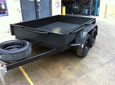 Tandem Box Trailer dual axle 8X5 H-DUTY 2T ATM  9x5 10x5 10x6 also available