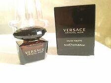 Miniature EDT Crystal Noir de Versace 5 ml. Neuve + boîte.