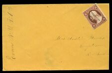 USA c1850s cover 3c Washington New York local delivery pen cancel