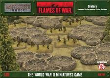 Gale Force Nine Battlefield in a Box Flames Of War Craters (BB144) Free UK P&P
