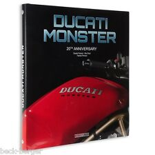 DUCATI Monster 20th Aniversario Libro Banda especial limitado NUEVO