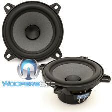 "FOCAL CAR AUDIO POLYGLASS 4"" MID WOOFERS FROM ISN100 COMPONENT SPEAKERS PAIR NEW"