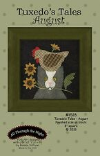 TUXEDO'S TALES-AUGUST QUILT PATTERN, From All Through The Night NEW