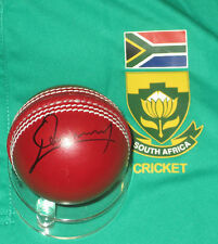 Quinton de Kock (South Africa)  signed red cricket ball +COA/photo proof