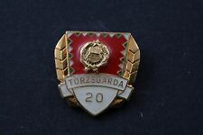 Hungary Hungarian Torzsgarda 20 Year Peoples Army Military Exc. badge pin medal