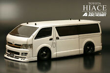 ABC HOBBY RC 1/10 ZERO-ONE SUPER BODY TOYOTA HIACE Clear Body 66084