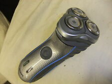 Shaver PHILIPS HQ 7180 carbon style body made in HOLLAND  - no lead - little use