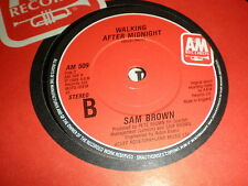 "Sam Brown 7"" Can I Get A Witness A & M"