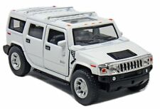 "Kinsmart 2008 Hummer H2 SUV 1:40 scale 5"" diecast model car Brand New white"