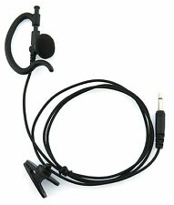 KENWOOD G-SHAPE LISTEN ONLY EARPIECE 2.5MM MONO PLUG PROTALK TK3201 TK3301
