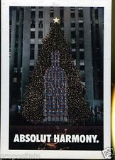 Cartolina Promocard Absolut Vodka Harmony  #85