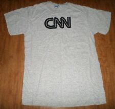 CNN small T shirt Cable News Network logo tee 24-hour coverage Time Warner