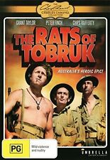 THE RATS OF TOBRUK (1944 Peter Finch)  -  DVD -UK Compatible sealed