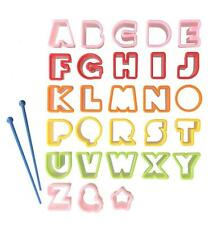Set of 28pc Letter Food Cutter for Bento Box #6764 S-3722